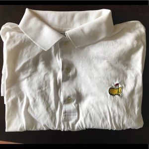 Other - Master's White Golf Shirt